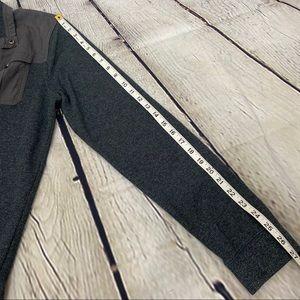 Banana Republic Shirts - Banana Republic gray thermal top pockets